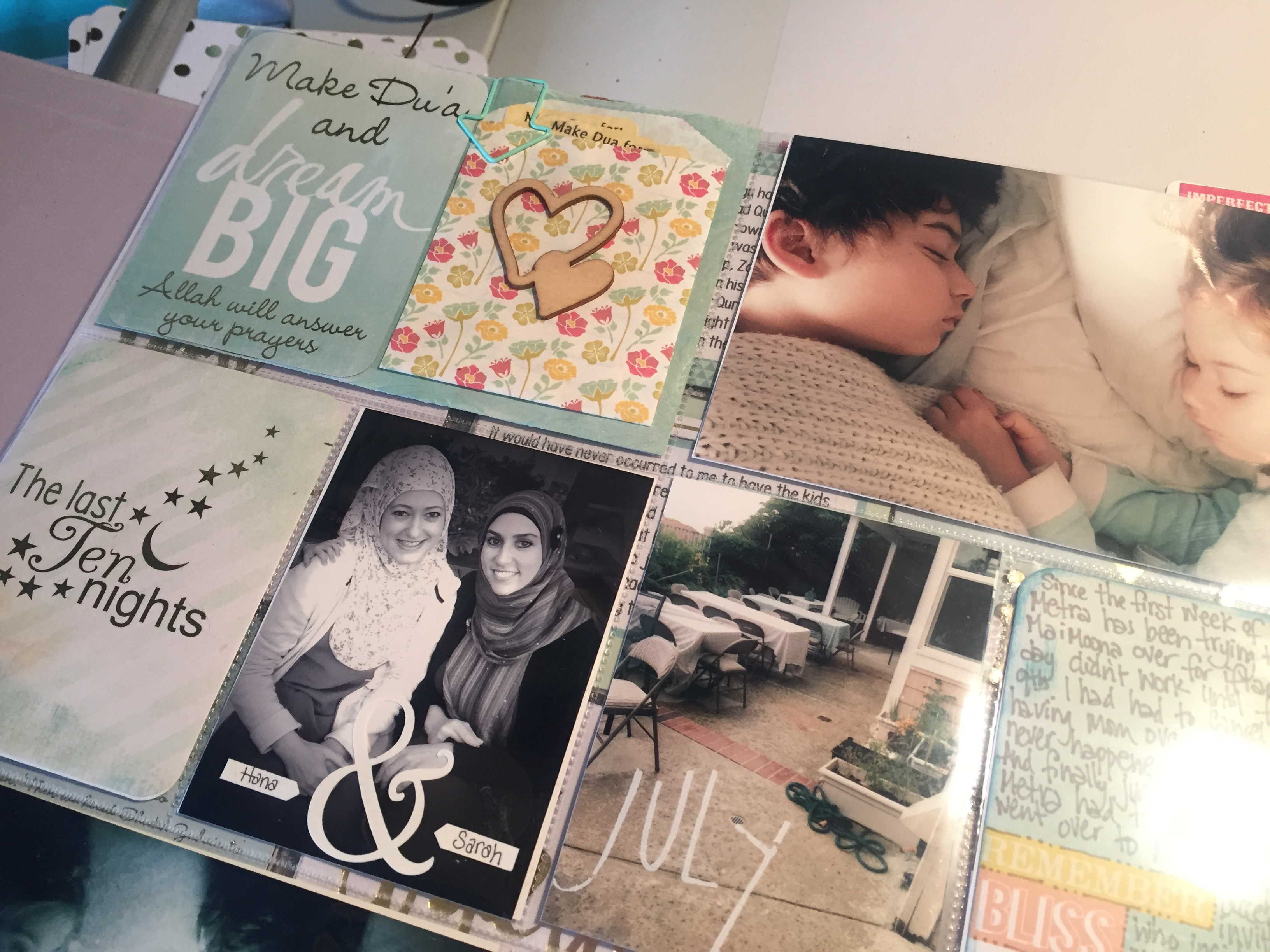 Ramadan Album Flip Through | Scrapbook