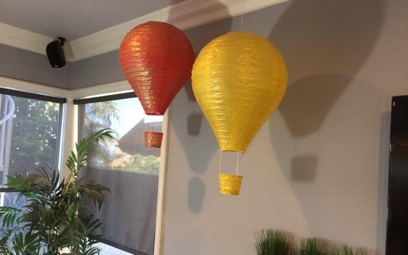 Hot Air Balloons | Unique Ramadan Decorations