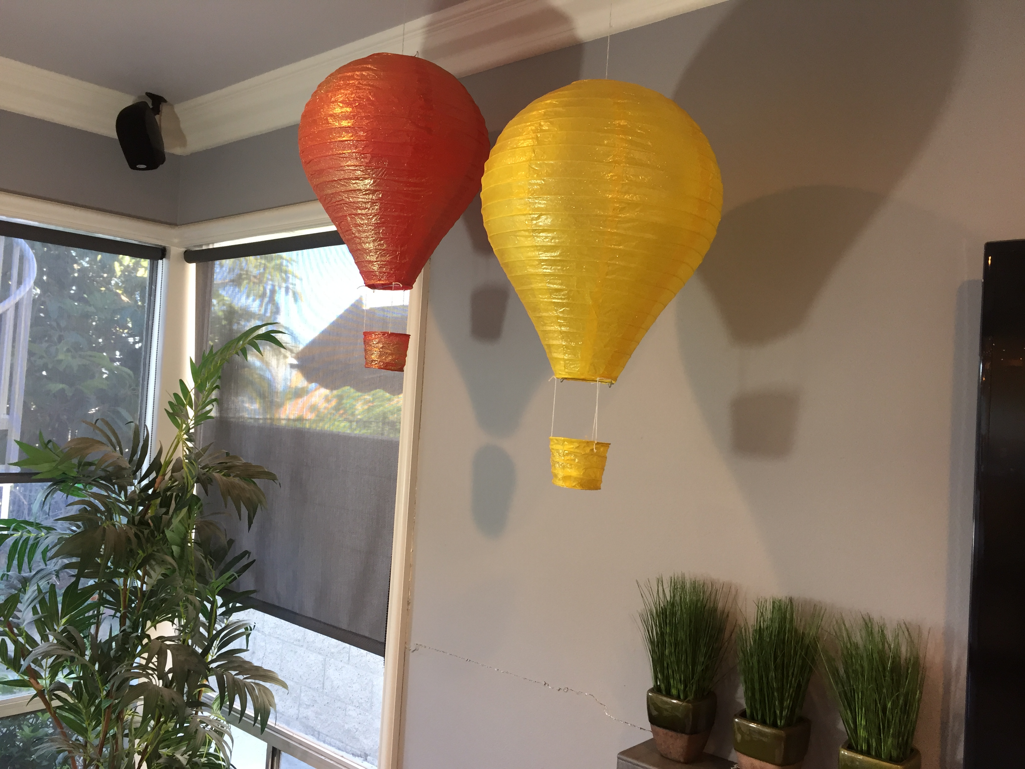 Hot Air Balloons | Unique Ramadan Decorations