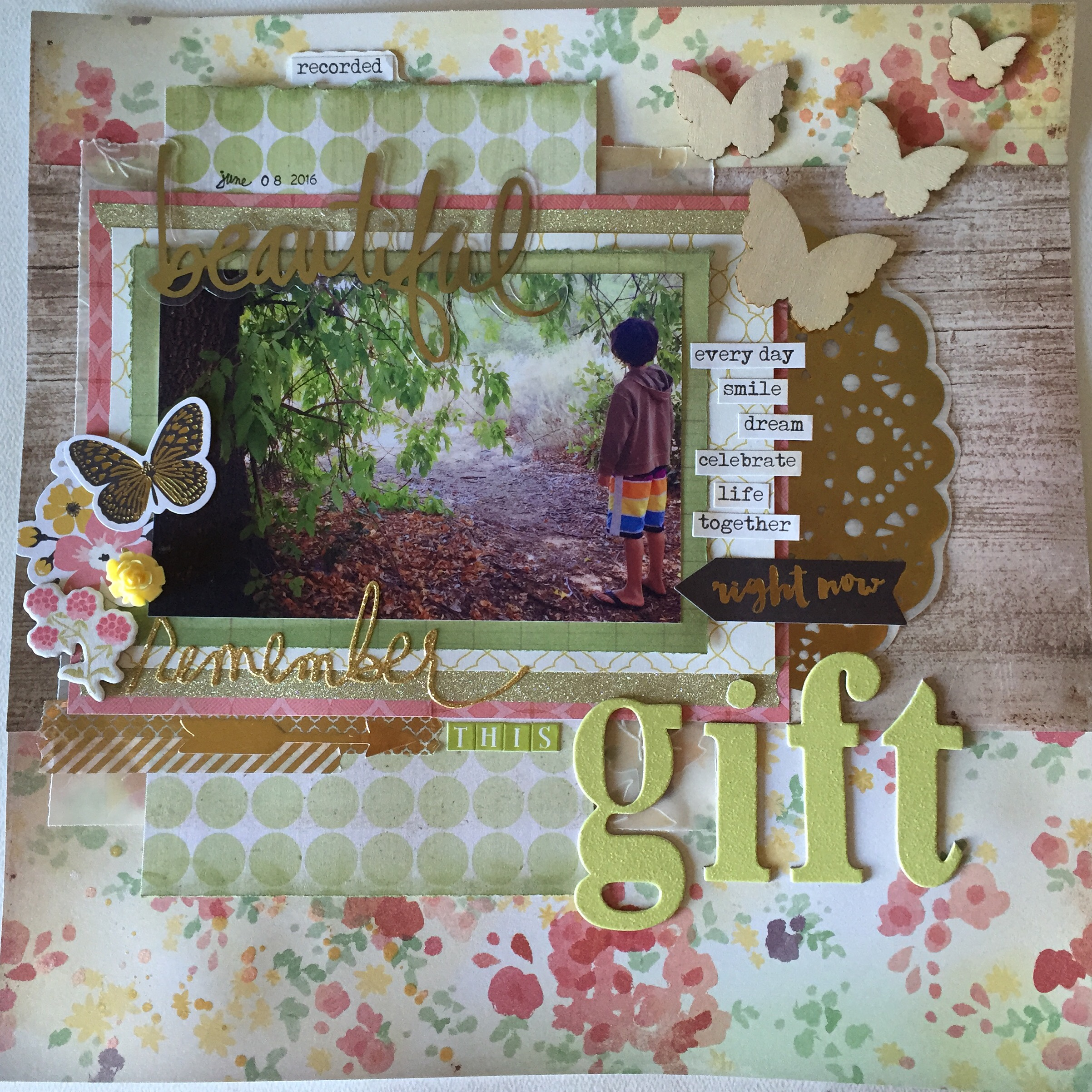 Ramadan Scrapbook 12×12 Layout