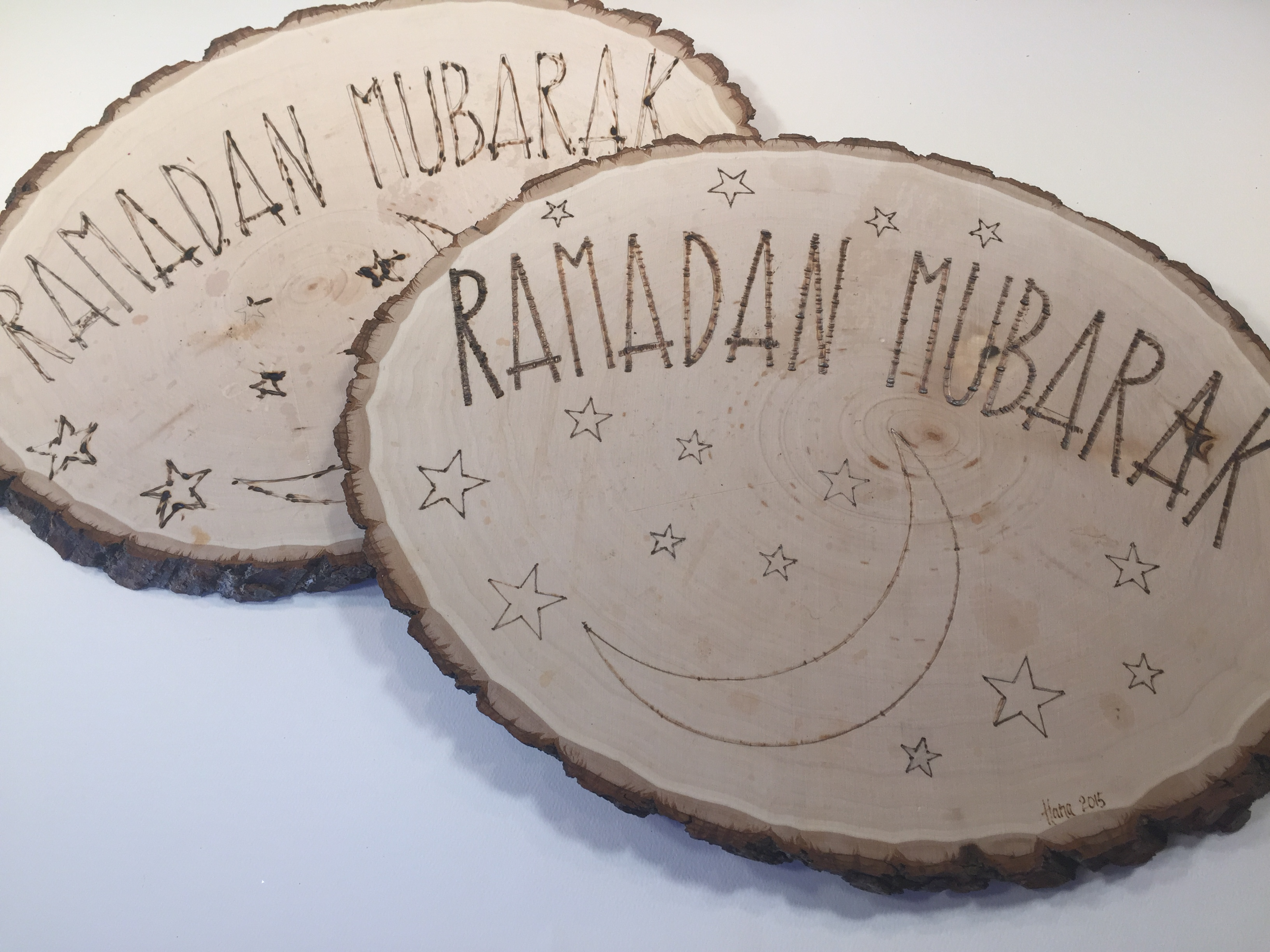 Unique  Ramadan Decoration | Wood Burning Project