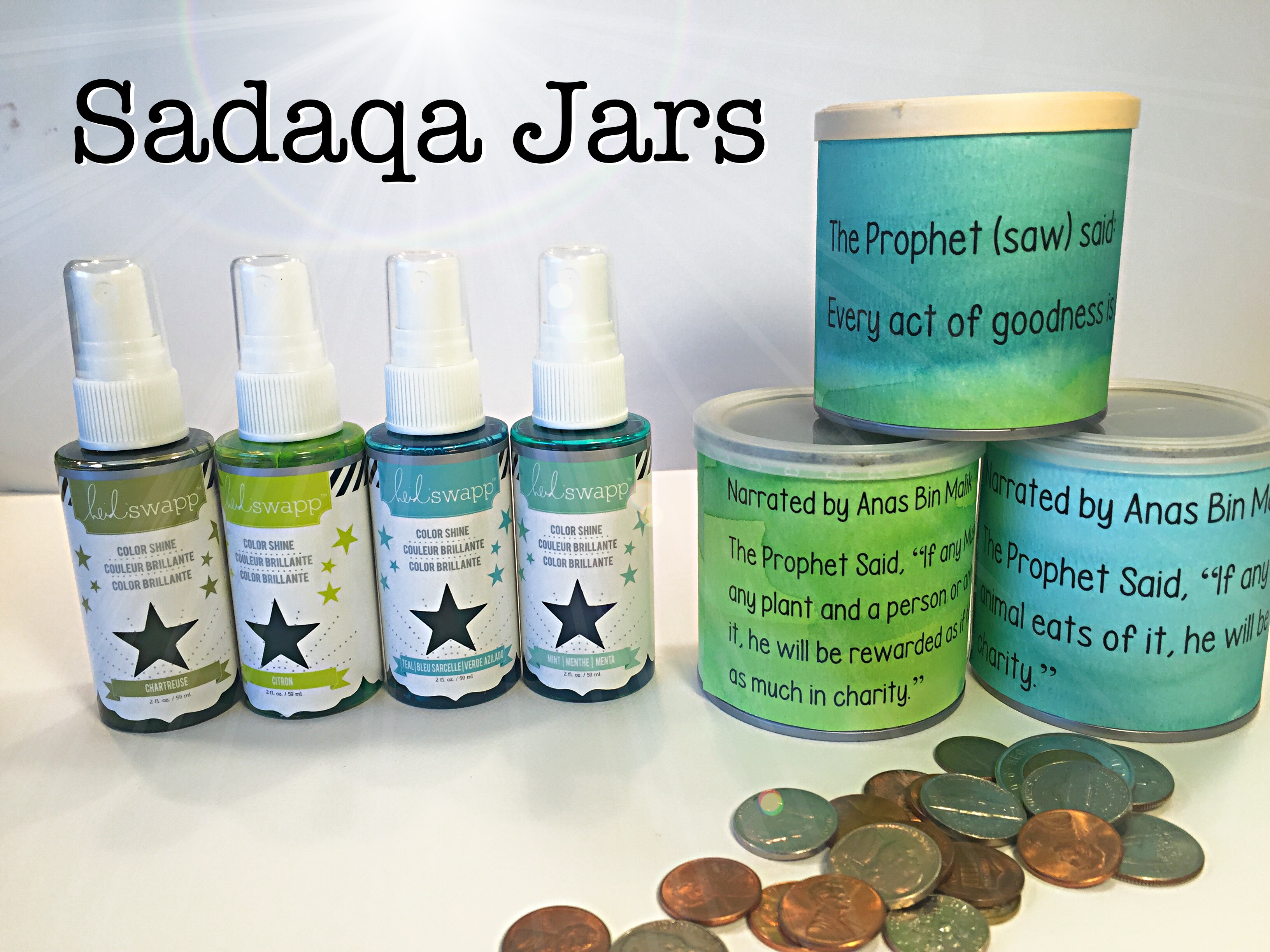 Sadaqa Jars | Tutorial