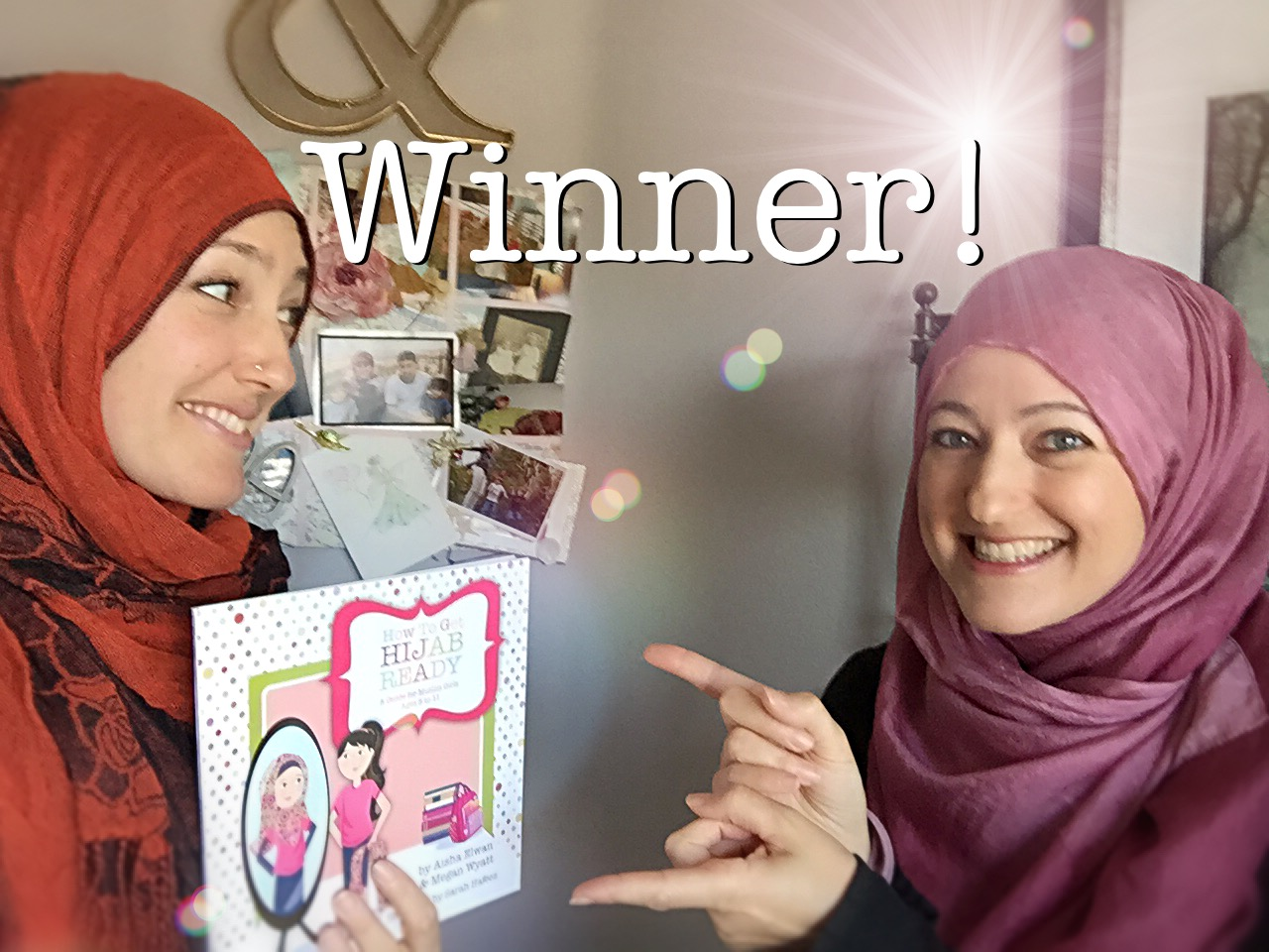 Giveaway Winner!! | How To Get Hijab Ready