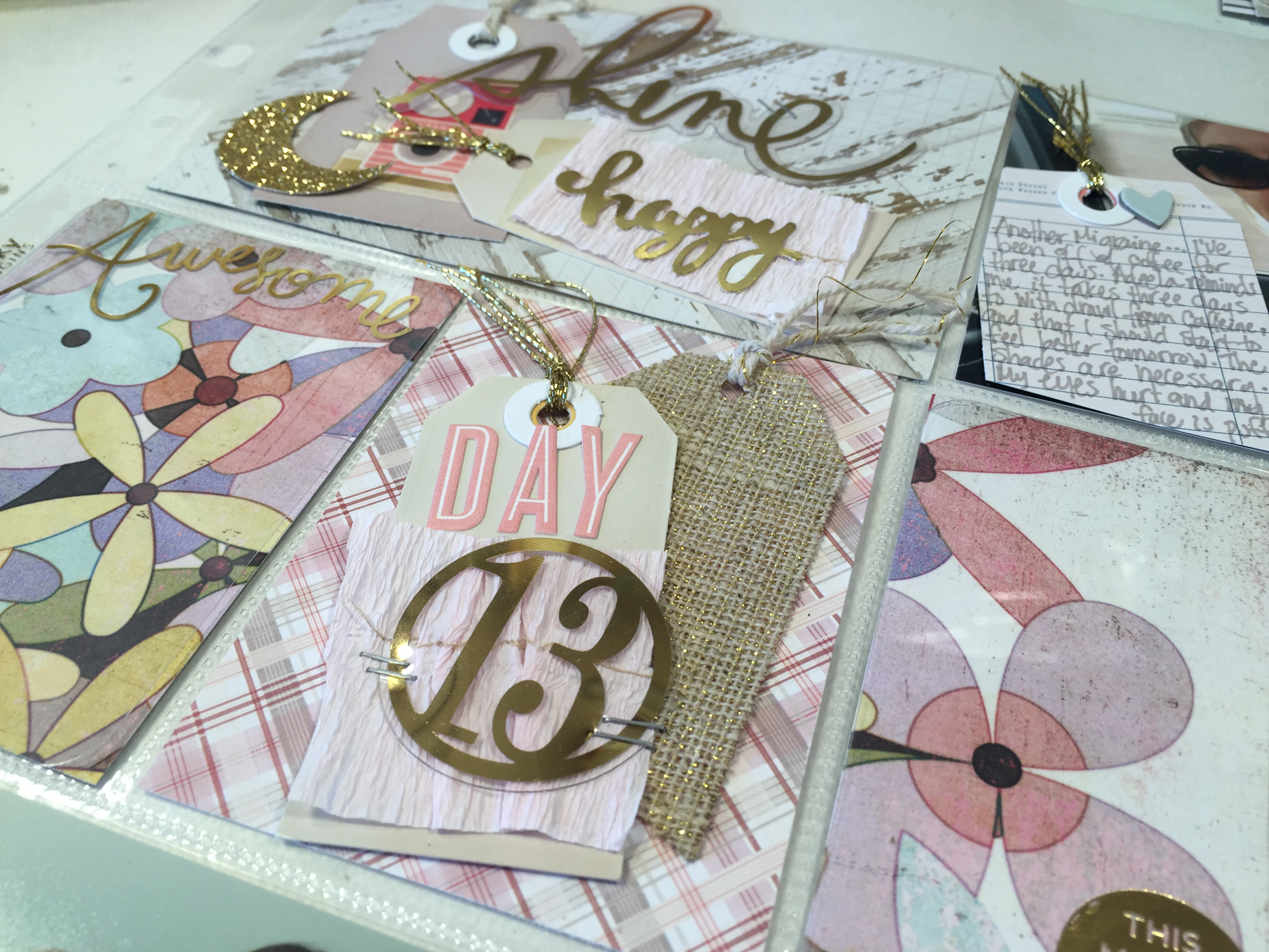 Day 13 Ramadan Scrapbook | Project Life