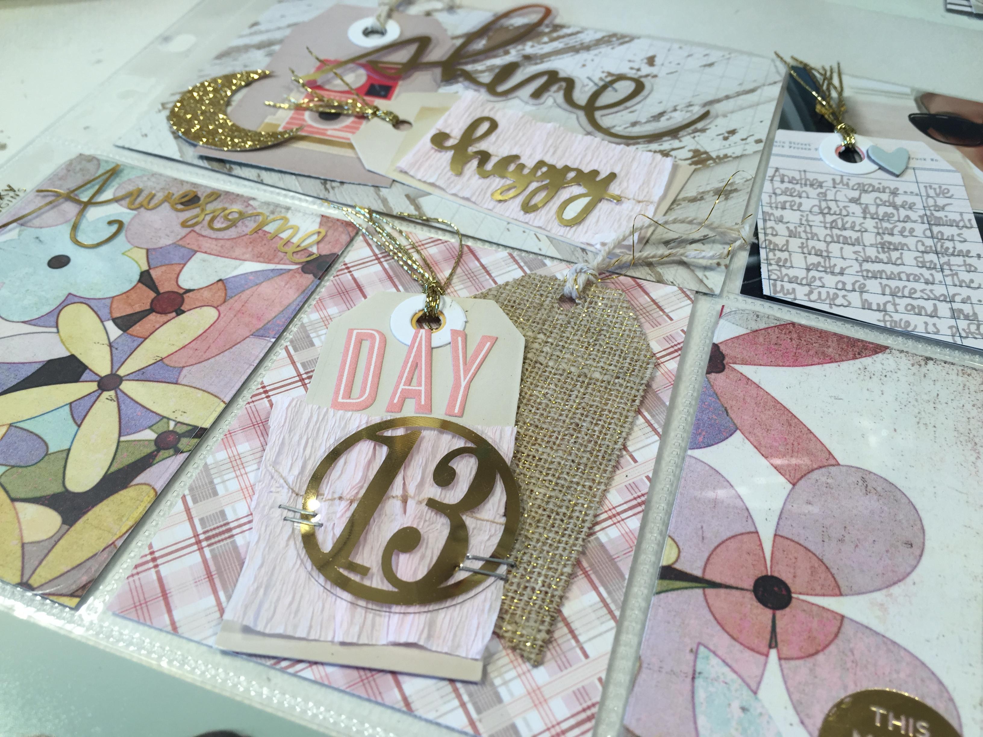 Day 13 Ramadan Scrapbook | Project Life