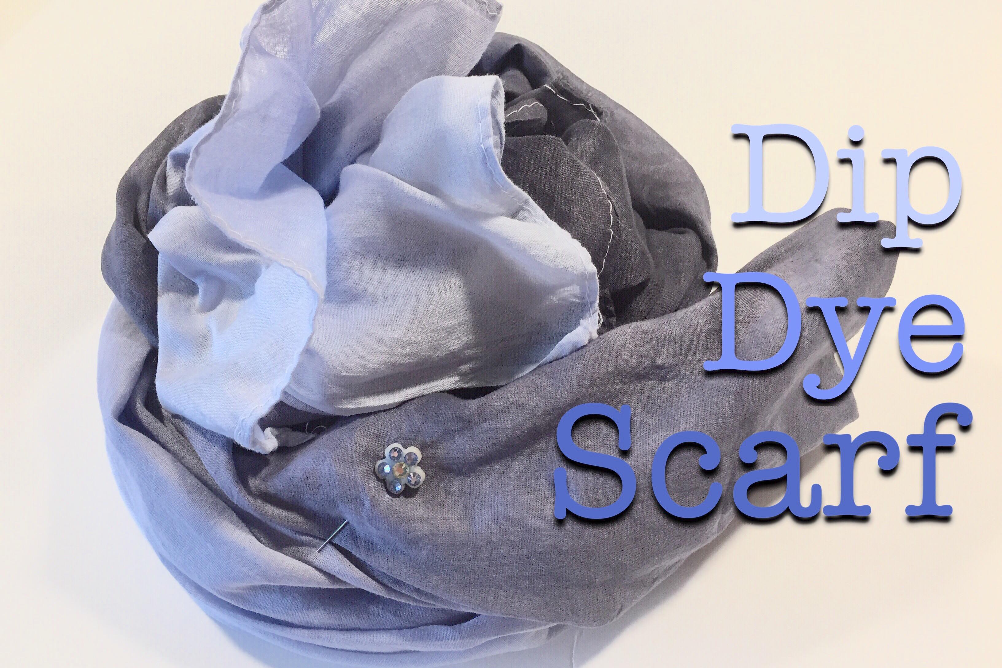 Dip Dye Hijab
